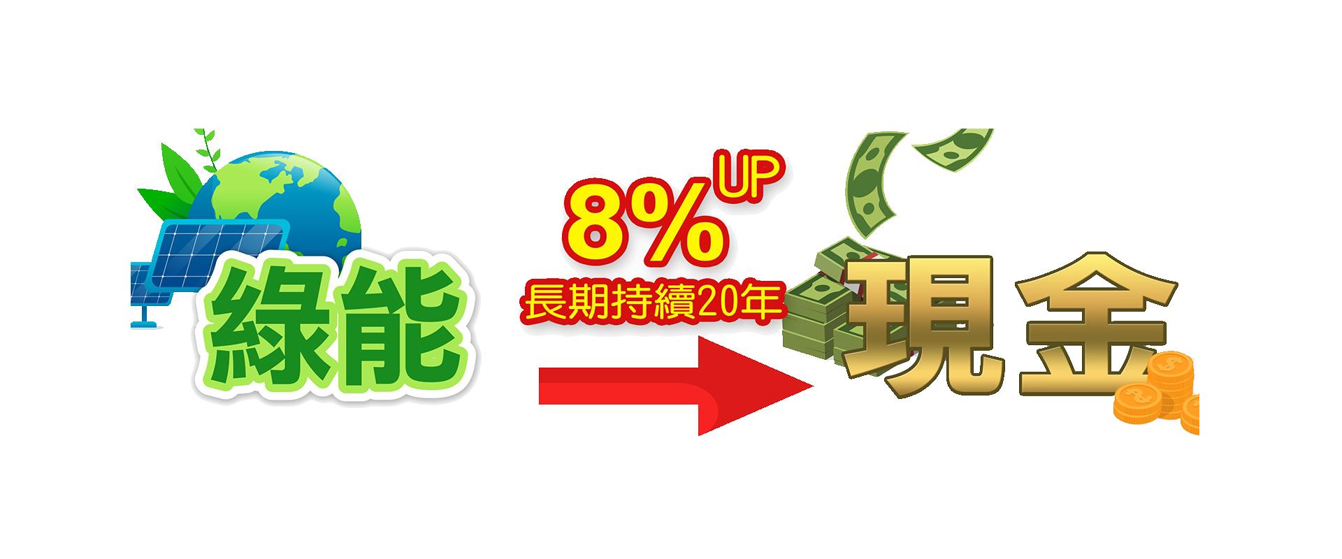 綠能變現金